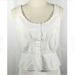 Tommy Hilfiger Tank Top Cami White Small